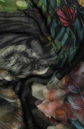 Женский платок из смеси кашемира и шелка DOLCE & GABBANA разноцветного цвета, арт. FS247A/FP3CN | Фото 2