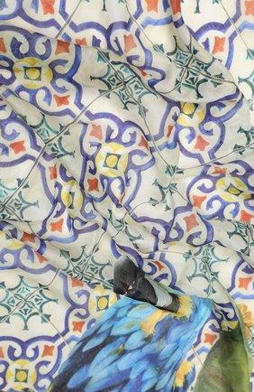 Мужские шарф DOLCE & GABBANA зеленого цвета, арт. FS184A/FP3CT | Фото 2