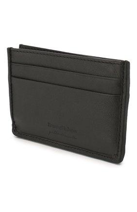 Мужской кожаный футляр для кредитных карт ERMENEGILDO ZEGNA черного цвета, арт. E1566P-LHPTA | Фото 2