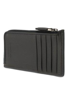 Мужской кожаный футляр для кредитных карт ERMENEGILDO ZEGNA темно-синего цвета, арт. E1571P-LHPGR | Фото 2