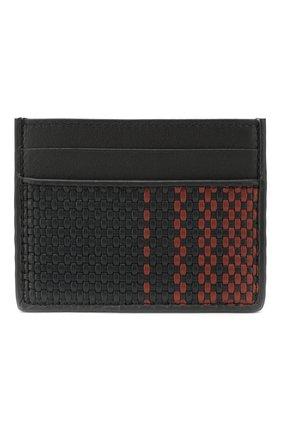 Мужской кожаный футляр для кредитных карт ERMENEGILDO ZEGNA темно-синего цвета, арт. E1139P-LHPGR | Фото 1