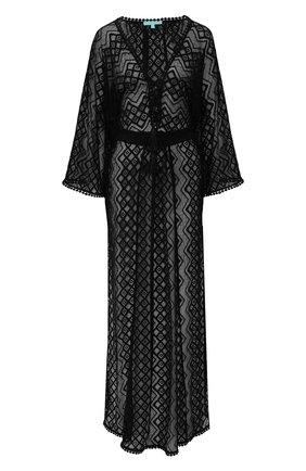 Женское туника MELISSA ODABASH черного цвета, арт. NINA   Фото 1