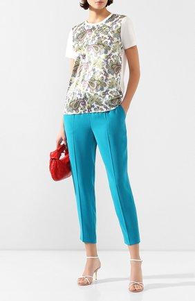 Женские брюки ESCADA бирюзового цвета, арт. 5029253 | Фото 2