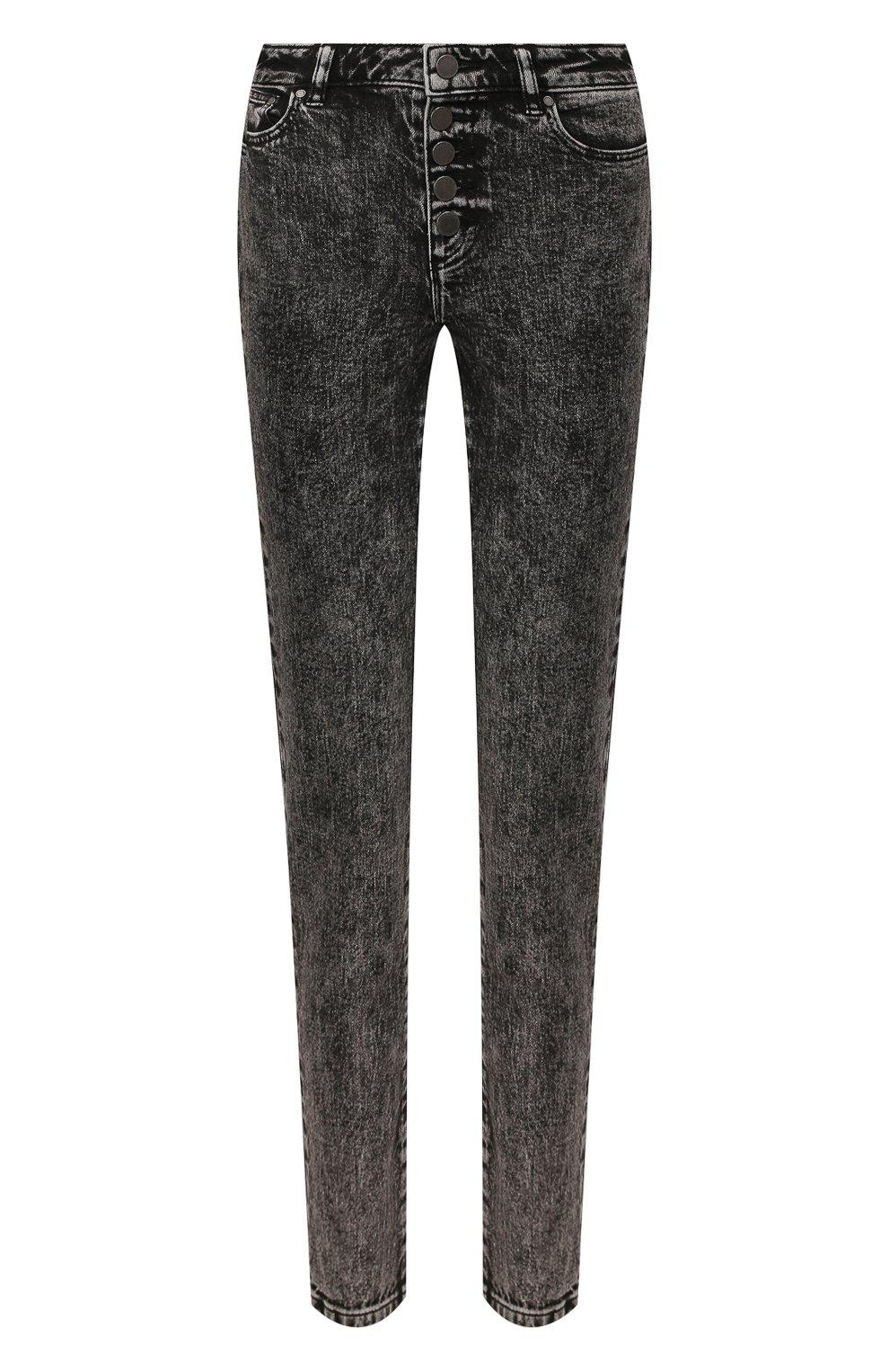 Женские джинсы MICHAEL MICHAEL KORS черного цвета, арт. MH99CSKEDX | Фото 1