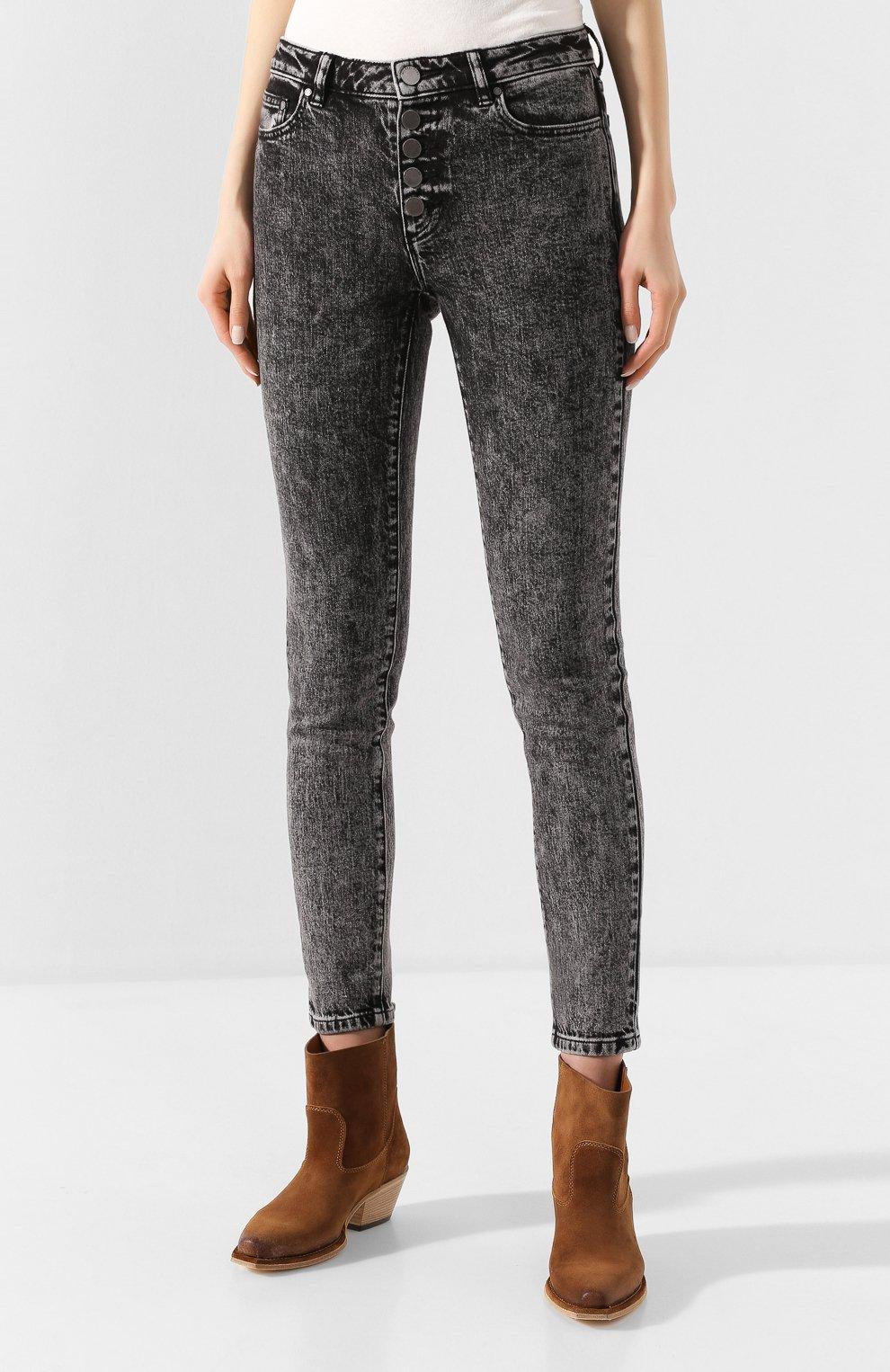 Женские джинсы MICHAEL MICHAEL KORS черного цвета, арт. MH99CSKEDX | Фото 3