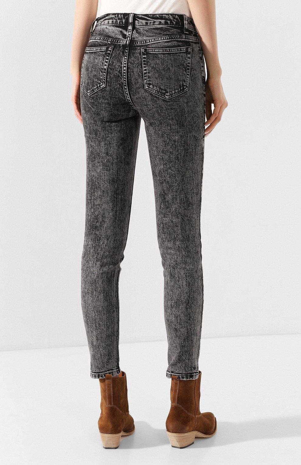 Женские джинсы MICHAEL MICHAEL KORS черного цвета, арт. MH99CSKEDX | Фото 4