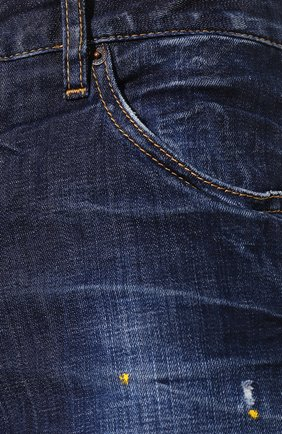 Женские джинсы DSQUARED2 синего цвета, арт. S72LB0308/S30342 | Фото 5