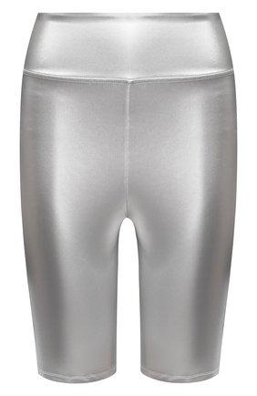 Женские шорты FENDI серебряного цвета, арт. FAB202 AB40 | Фото 1