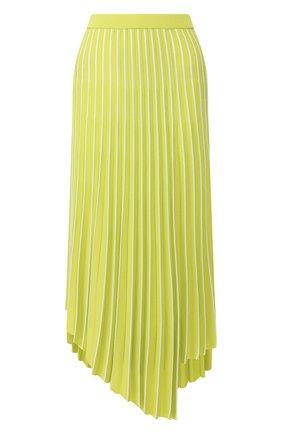 Женская юбка из вискозы MRZ зеленого цвета, арт. S20-0043   Фото 1