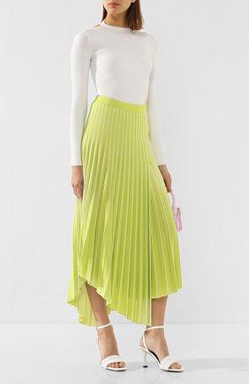 Женская юбка из вискозы MRZ зеленого цвета, арт. S20-0043   Фото 2