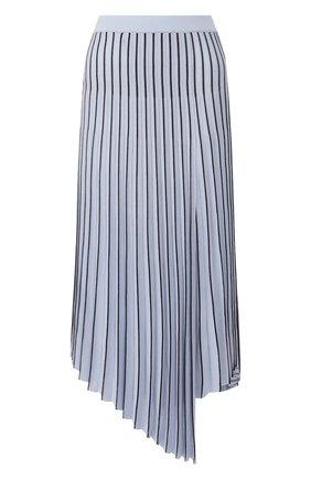 Женская юбка из вискозы MRZ голубого цвета, арт. S20-0043 | Фото 1