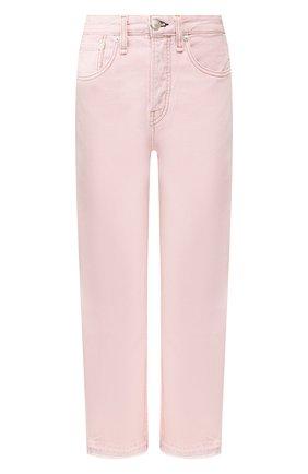 Женские джинсы RAG&BONE розового цвета, арт. WDD19H2645D3SP | Фото 1