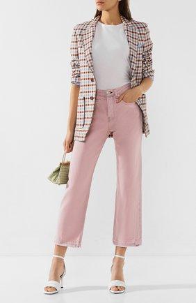 Женские джинсы RAG&BONE розового цвета, арт. WDD19H2645D3SP | Фото 2
