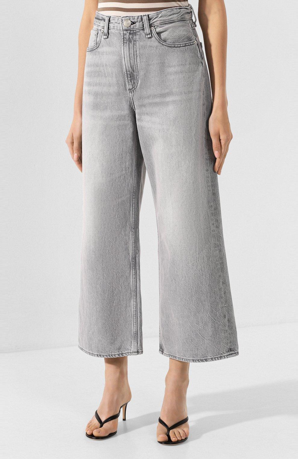 Женские джинсы RAG&BONE серого цвета, арт. WDD19H2646D3PL | Фото 3