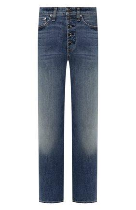 Женские джинсы RAG&BONE синего цвета, арт. WDD19H2692K5BR | Фото 1