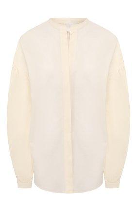 Женская хлопковая блузка TWINS FLORENCE белого цвета, арт. TWFPE20CAM0006 | Фото 1