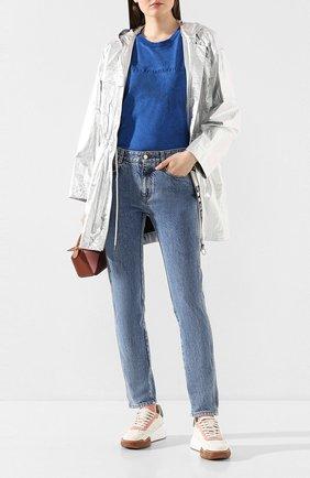 Женские джинсы STELLA MCCARTNEY синего цвета, арт. 372773/SNH90 | Фото 2