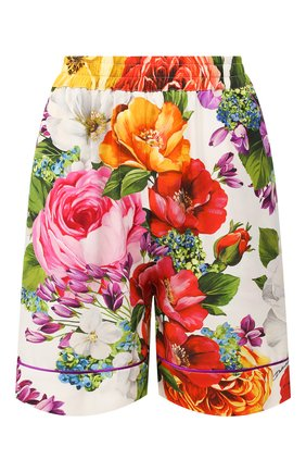 Женские шелковые шорты DOLCE & GABBANA разноцветного цвета, арт. FTAM7T/FSAZM | Фото 1