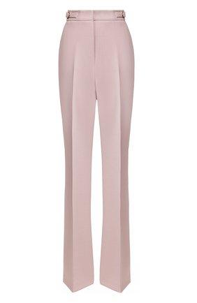 Женские шерстяные брюки GABRIELA HEARST светло-розового цвета, арт. 320200A W005 | Фото 1