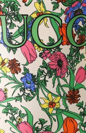 Женский слитный купальник GUCCI разноцветного цвета, арт. 514977/XHACJ | Фото 5
