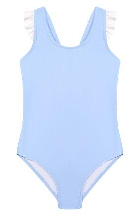 Детского слитный купальник MELISSA ODABASH голубого цвета, арт. BABY MILLY   Фото 1