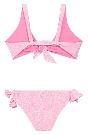 Детского раздельный купальник MELISSA ODABASH розового цвета, арт. BABY C0M0 | Фото 2