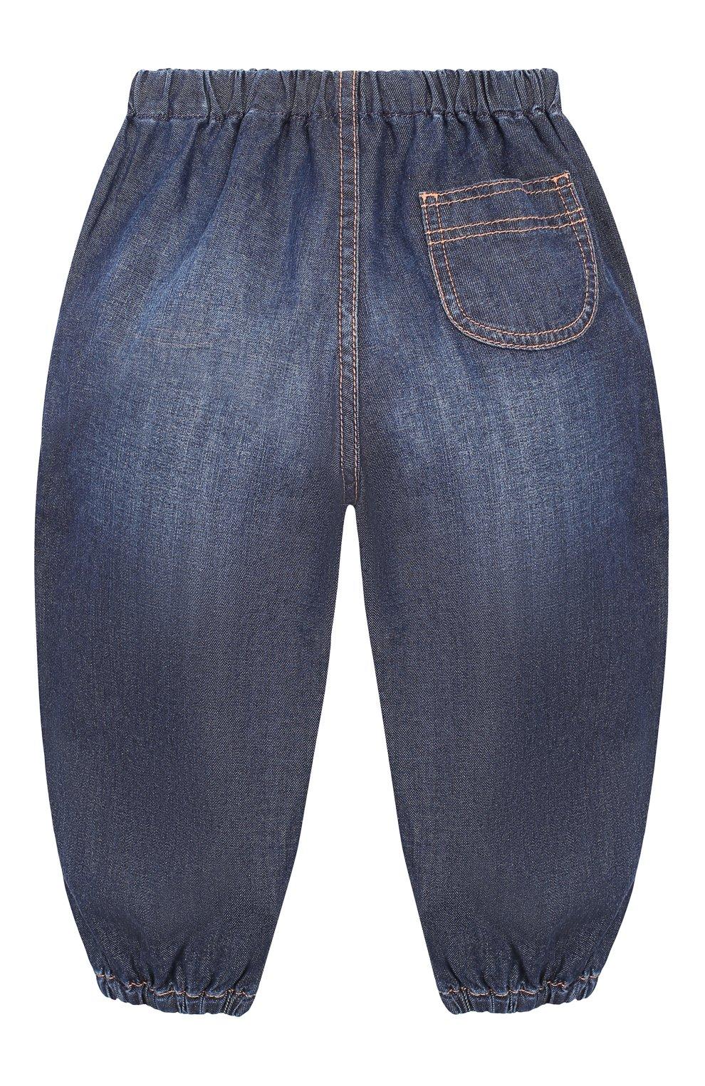 Детские джинсы GUCCI синего цвета, арт. 591305/XDAZD   Фото 2
