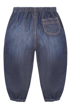 Детские джинсы GUCCI синего цвета, арт. 591305/XDAZD | Фото 2