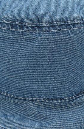 Детская хлопковая панама CATYA голубого цвета, арт. 014073   Фото 3