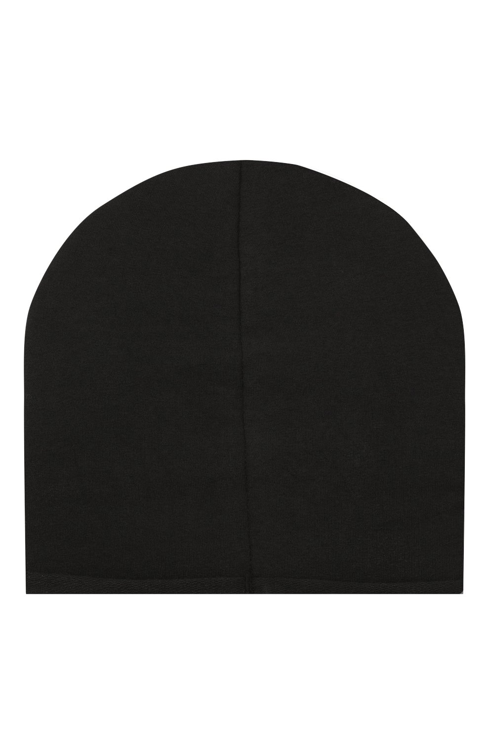 Детского хлопковая шапка CATYA черного цвета, арт. 014085   Фото 2