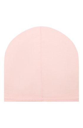Детского хлопковая шапка CATYA розового цвета, арт. 014109 | Фото 2
