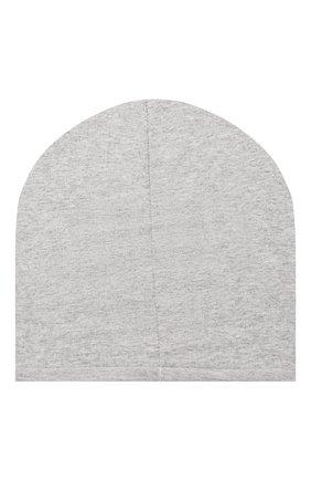 Детского хлопковая шапка CATYA серого цвета, арт. 014109 | Фото 2