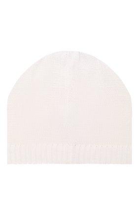 Детского хлопковая шапка CATYA белого цвета, арт. 014160 | Фото 2