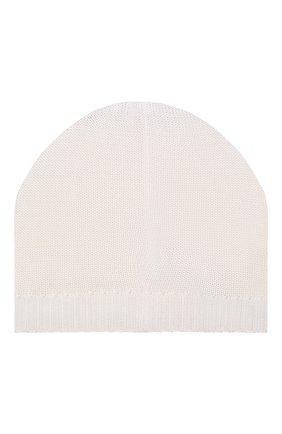 Детского хлопковая шапка CATYA белого цвета, арт. 014168 | Фото 2