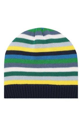 Детского хлопковая шапка CATYA разноцветного цвета, арт. 014199 | Фото 1