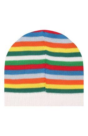 Детского хлопковая шапка CATYA разноцветного цвета, арт. 014199 | Фото 2