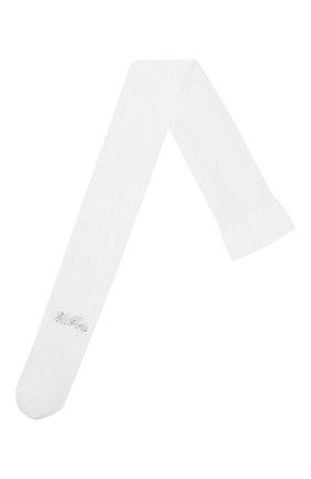 Детские колготки LA PERLA белого цвета, арт. 40244/7A-12A | Фото 1