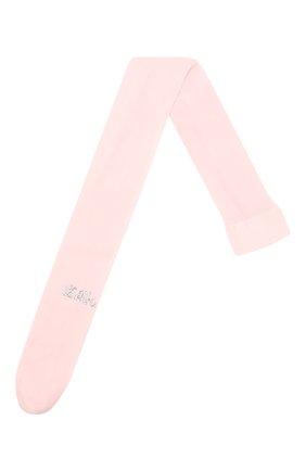 Детские колготки LA PERLA розового цвета, арт. 40244/7A-12A | Фото 1