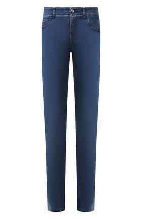 Мужские джинсы ZILLI синего цвета, арт. MCT-00098-DSBL1/S001 | Фото 1