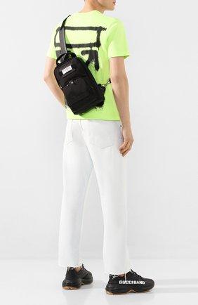 Мужской текстильный рюкзак downtown GIVENCHY черного цвета, арт. BK505UK0S9   Фото 2