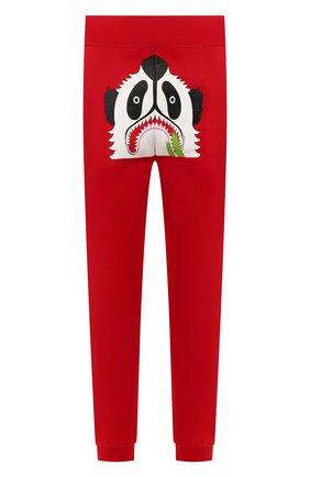 Мужской хлопковые джоггеры BAPE красного цвета, арт. 1G30152002 | Фото 1
