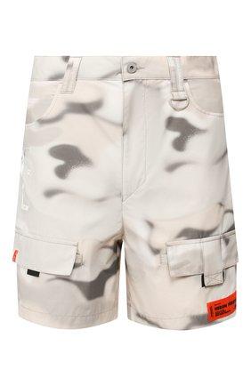 Мужские шорты HERON PRESTON серого цвета, арт. HMCB005S209110168801 | Фото 1