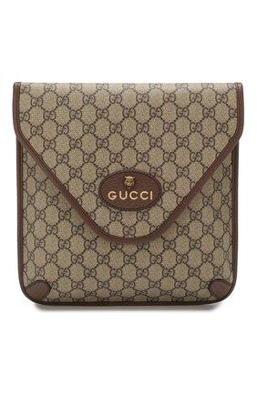 Мужская сумка neo GUCCI бежевого цвета, арт. 598604/9C2VT | Фото 1