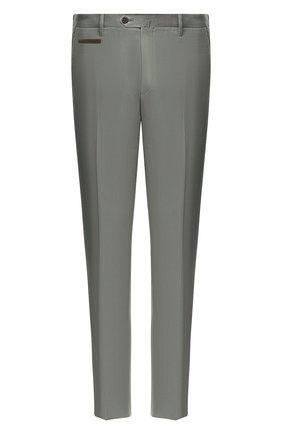 Мужской брюки из смеси хлопка и кашемира CORNELIANI зеленого цвета, арт. 854203-0114105/02 | Фото 1