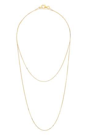 Женское серебряная цепь BOTTEGA VENETA золотого цвета, арт. 622026/VAHU0 | Фото 2