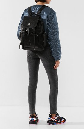 Женский рюкзак brandenburg medium MCM черного цвета, арт. MMK ASBG02 | Фото 2