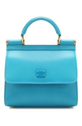 Женская сумка sicily 58 mini  DOLCE & GABBANA голубого цвета, арт. BB6846/AV385 | Фото 1