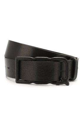 Женский кожаный ремень DSQUARED2 черного цвета, арт. BEW0153 12902702 | Фото 1