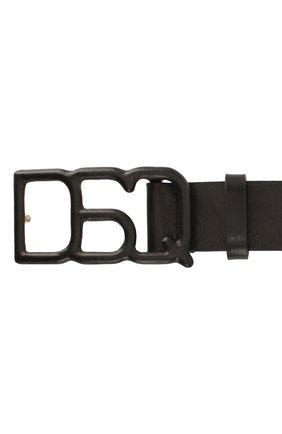 Женский кожаный ремень DSQUARED2 черного цвета, арт. BEW0153 12902702 | Фото 3