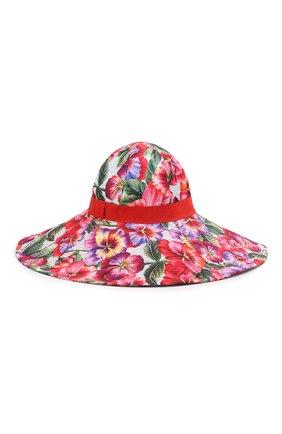 Женская шляпа DOLCE & GABBANA разноцветного цвета, арт. FH488A/HSM21 | Фото 1